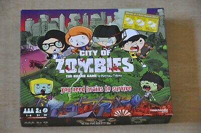 £17.99 • Buy City Of Zombies Board Game By Think Noodle
