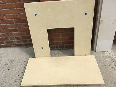 £55 • Buy Marble Fire Hearth And Back Panel
