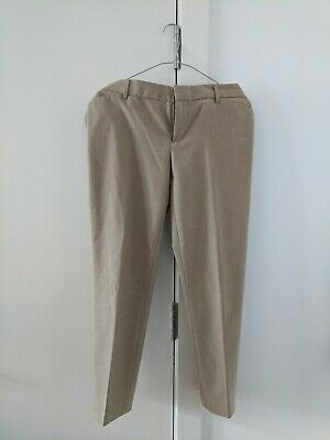 £1.10 • Buy Mint Condition Gap Beige Trousers - Slim Cropped Stretch - US Size 4/UK 10