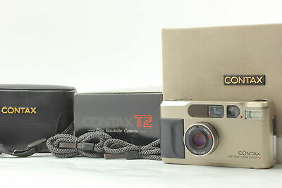 $ CDN1445.30 • Buy [N Mint In Box] CONTAX T2 D 35mm Point & Shoot Camera W/ Leather Case From Japan