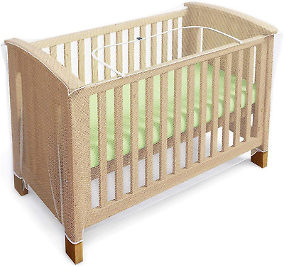 £21.99 • Buy Mosquito Net For Cot, Crib  Cot Bed - Baby Mosquito Insect Net - Cat Net With Z