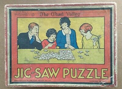 £3 • Buy Vintage Wooden Jigsaw Puzzle 148 Pieces Seaside Scene 4 Pieces Missing
