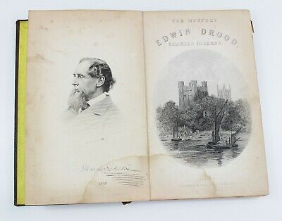 £19.99 • Buy Charles Dickens MYSTERY OF EDWIN DROOD Chapman Hall 1870 Illustrated By Fildes