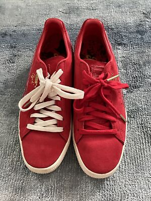 £35 • Buy Puma X Packer 'Clyde' Red Colourway Size UK7