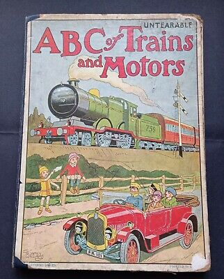 £19.99 • Buy Ladybird 1920's A B C Of Trains And Motors Book