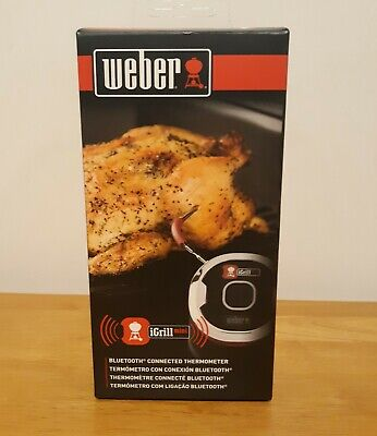 $ CDN30.36 • Buy Weber I-Grill Mini Bluetooth Connected Thermometer 7202 Never Used