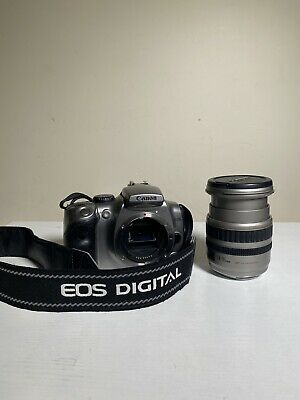 £8.85 • Buy Canon EOS 300D W/ Ultrasonic 24-85mm 1:3.5-4.5 Lens W/ Strap And Lens Cover