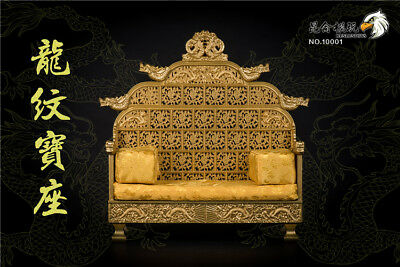 $148.79 • Buy 1/6 Scale NO.10001 Ancient Emperors Dragon Chair Sence Prop Accessories Model