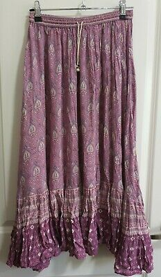 AU200 • Buy SPELL Oracle Midi Skirt Lilac, Size XS