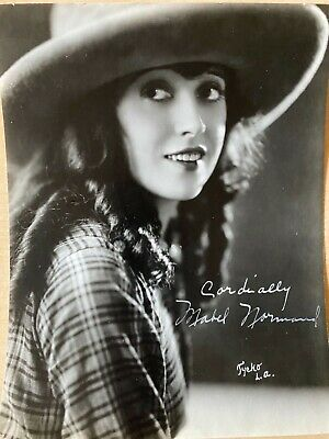 $900 • Buy Mabel Normand Rare Signed Photo Autograph