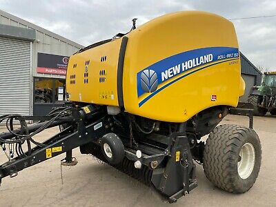 £16500 • Buy 2016 New Holland Roll-Belt 150 Superfeed Round Baler Only 7000 Bale Count