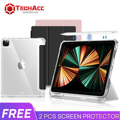 AU26.99 • Buy For Apple IPad Pro 11  12.9  2021 Clear Smart Case Shockproof Heavy Duty Cover