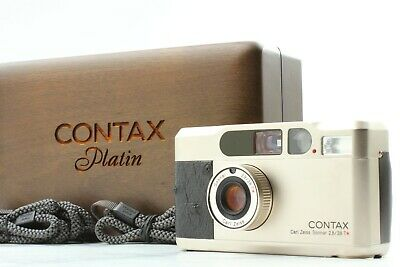 $ CDN2000.43 • Buy [Mint In Case] CONTAX T2 Limited Platin Point & Shoot Film Camera Japan