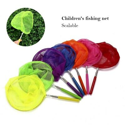 £3.99 • Buy 2X Children's Extendable Fishing Butterfly Bug Insect Outdoor Toy Net