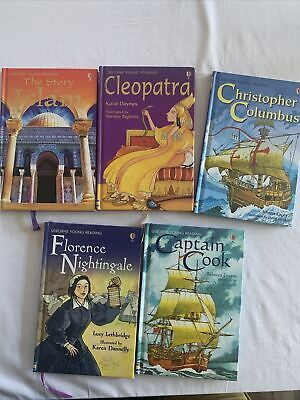 £10 • Buy Collection Of 5 Usbourne Young Readers Hardback Books