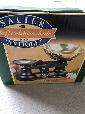 £75 • Buy Vintage Salter Staffordshire Kitchen Scales With Metric & Imperial Weights