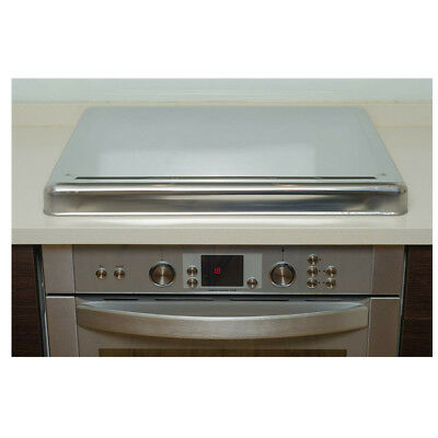 £48.94 • Buy Stainless Steel Hob Cover Protector For Gas Electric Cookers Safety Cover Silver