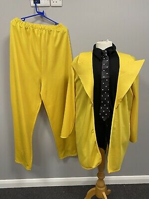 £24 • Buy The Mask Yellow Suit XL - Ex Hire Fancy Dress Costumes Film Movie Character
