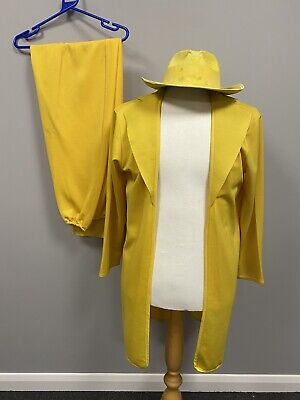 £20 • Buy The Mask Yellow Suit 2XL - Ex Hire Fancy Dress Costumes Film Movie Character
