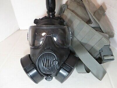 $369.95 • Buy US ARMY Avon M50 Gas Mask Size LARGE - Excellent Condition With Bag