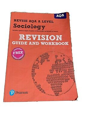 £5 • Buy Aqa A Level Sociology Revision Guide