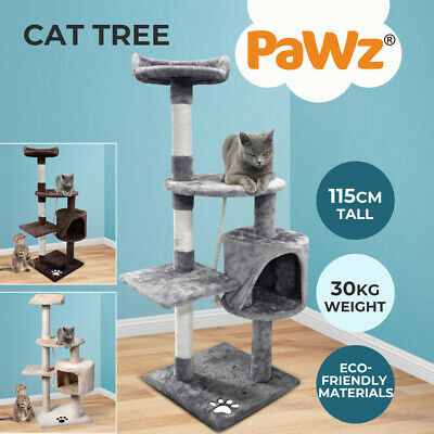 AU49.99 • Buy Pawz Cat Tree Scratching Post Scratcher Furniture Condo Tower House Trees