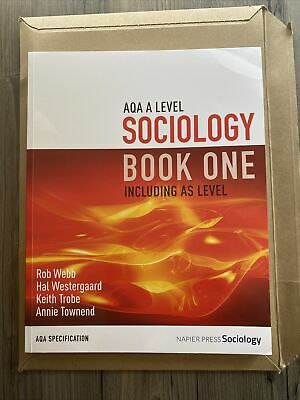 £25 • Buy AQA A Level Sociology Book One - New
