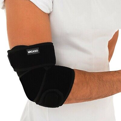 £4.89 • Buy Elbow Support Brace Adjustable Tennis Golfers Strap Lateral Pain Gym Bandage X1