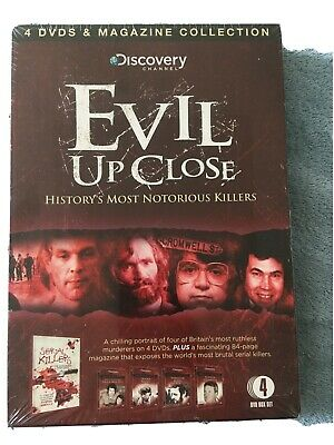 £3.40 • Buy Discovery Channel Evil Up Close - 4 DVD Boxset - New And Sealed
