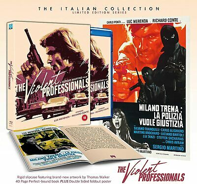 £25.99 • Buy The Violent Professionals - DELUXE COLLECTOR'S EDITION (Blu-ray) Luc Merenda