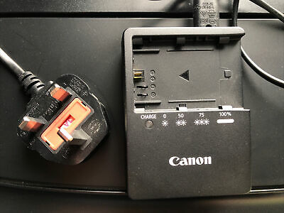 £33 • Buy Genuine Canon LC-E6E Battery Charger For LP-E6 Batteries For EOS 5D MKII And 7D