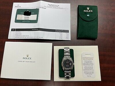$ CDN9126.66 • Buy Rolex Datejust Turn O Graph 36mm Watch With Black Dial, Serviced By Rolex 2021