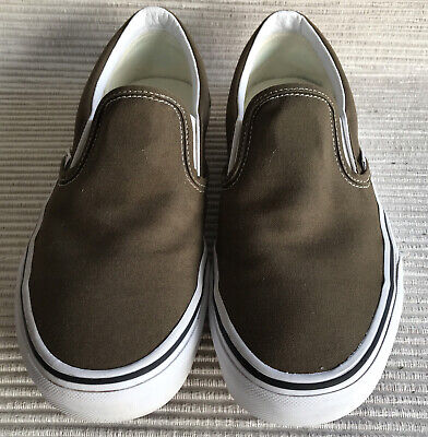 £14.50 • Buy Vans Classic U Slip On Size UK 7 Green Excellent Condition Worn Couple Of Times