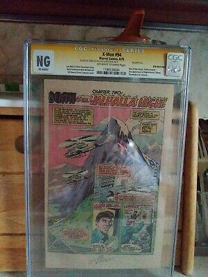 £83.22 • Buy X-MEN 94 CGC NG Signed By Stan Lee