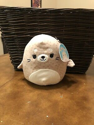 """$ CDN9.72 • Buy Squishmallows-Lilou The Spotted Seal-8""""-NWT"""
