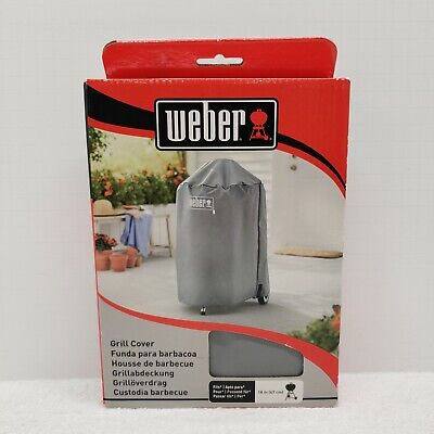 $ CDN25.16 • Buy Weber Charcoal Grill Cover #7175, 18  - Fastening Straps- Grey - New