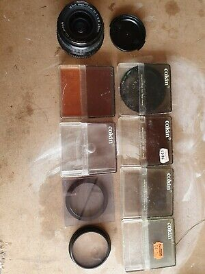 £5.50 • Buy Camera Lens And Filters + Case (old School)
