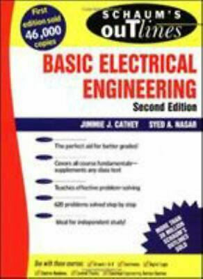 £10.16 • Buy Schaum's Outline Of Theory And Problems Of Basic Electrical Engineering Book PB