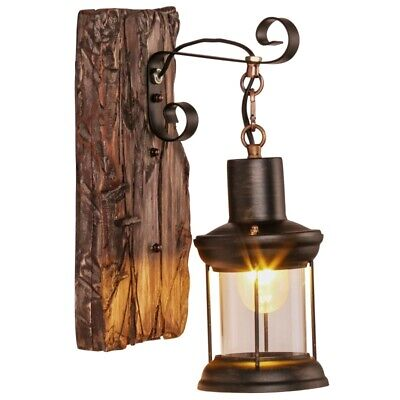 £1.04 • Buy Vintage Retro Wall Sconce Rustic Style Kitchen Bar Loft Wall Lamp Light Fixture