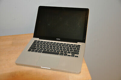 """$135 • Buy Apple MacBook (NOT Pro) 13"""" A1278 2.4GHz Core 2 Duo 250GB HDD 4GB Memory"""
