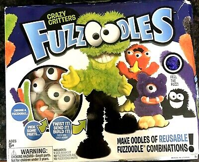 £6.94 • Buy KIDS CRAFTS!! FUZZOODLES Crazy Critters Craft Toy Create Kit NEW