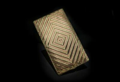 $ CDN11922.67 • Buy Cartier 14kt Yellow And Rose Gold Card / Cigarette Case 1940's