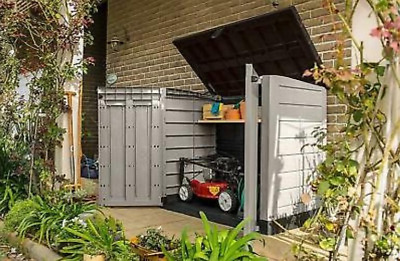 £191.08 • Buy Keter Store It Out MAX Garden Lockable Storage Box XL Shed Outside Bike Bin Tool