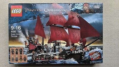 £580 • Buy Lego Pirates Of The Caribbean Queen Anne's Revenge 4195 New In Box