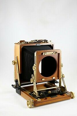 £336.30 • Buy Wista 4X5 Large Format Field 45-II Folding View Camera In Cherry NEW BELLOWS