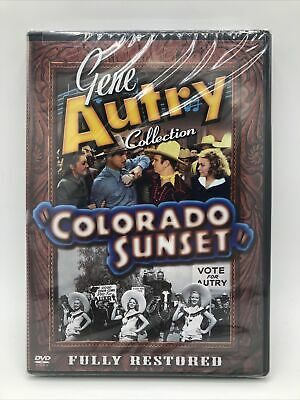 £30.78 • Buy Colorado Sunset (DVD, 2002) Gene Autry Collection Fully Restored NEW & SEALED