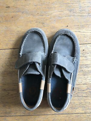 £1.40 • Buy Garvalin Boys Leather Deck Shoes Size 31 Or 13