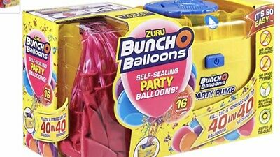 £12.99 • Buy Bunch O Balloons Portable Party Electric Pump Starter Pack Including Balloons