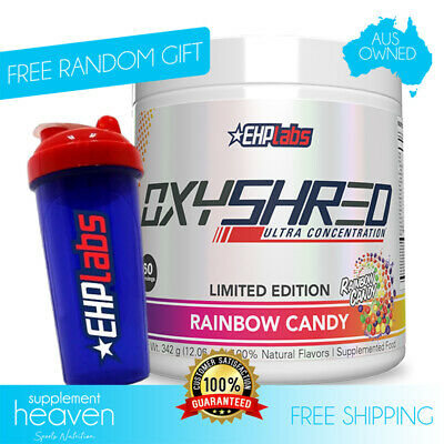 AU79.90 • Buy Oxyshred Rainbow Candy Limited Edition EHPLabs Oxy Shred EHP Labs Fat Burner