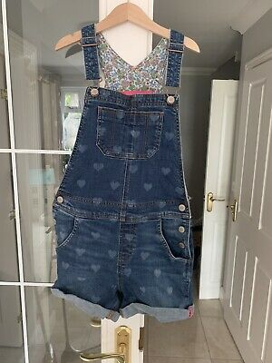 £3.40 • Buy Mini Boden Dungarees 9-10 Worn Once Floral Ditsy Print Liberty Similar